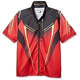 シマノ(SHIMANO) フルジップシャツ リミテッドプロ (半袖) SH-012S レッド XL