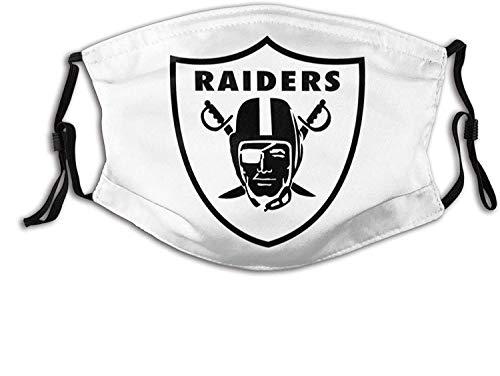 Unisex Nasenmund Anti Staubschutz Las Vegas Raiders Verstellbare Mundschutz
