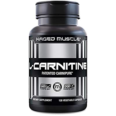Kaged Muscle L-Carnitine Capsules, 120 Count