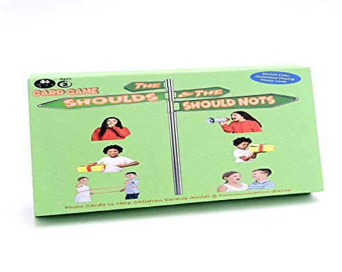 Product Image of the The Shoulds and Should Nots Card Game to Help Kids Develop Social &...