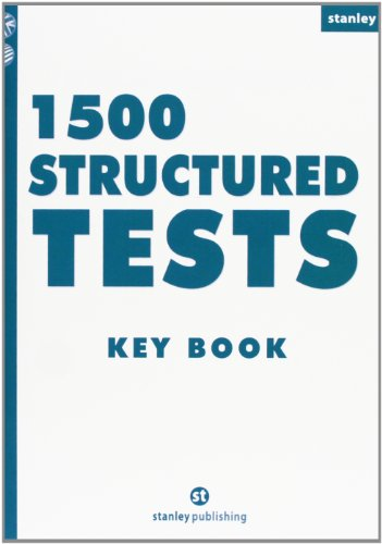 1500 Structured Tests Key book