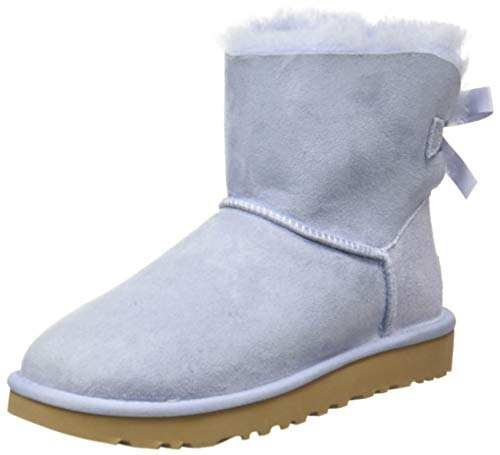 UGG Australia Damen Mini Bailey Bow II Stiefelette, Fresh Air, 41 EU