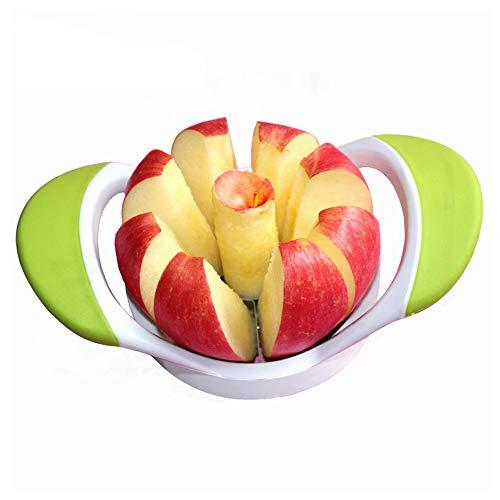 Anskp Apple Core Slicer-Remover-Divider-Cutter-Wedger, Ergonomic Rubber Grip Handle Tool Fruit Cutter …