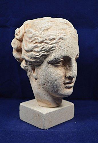 Estia Creations Hygieia Health Escultura Cabeza Busto Antigua Diosa Griega de la Salud