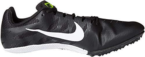 Nike Unisex-Erwachsene Zoom Rival S 9 Fitnessschuhe, Schwarz (Black/White/Volt 017), 40.5 EU