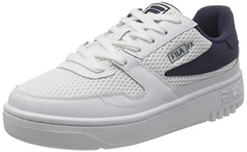 FILA FXVentuno men Sneaker Uomo, Bianco (White/Fila Navy), 46 EU
