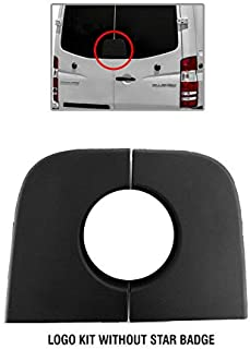 New Mercedes Benz Sprinter Cargo Back Door Base Logo Kit Without Badge 2006 To 2016 IMS auto parts