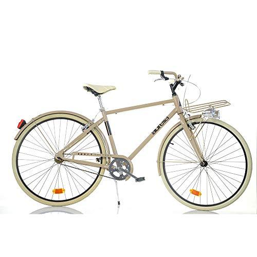aurelia 1028SU - Bicicleta para Hombre, 28 Pulgadas, sin Cambio Sport Bike...