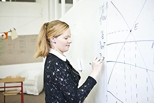 Smart Whiteboard Farbe 6m² Weiß - Whiteboard Wandfarbe - Beschreibbare Wand - Trocken Abwischbare Oberfläche für Zuhause und Büro *KOSTENLOSER EXPRESSVERSAND* - 3