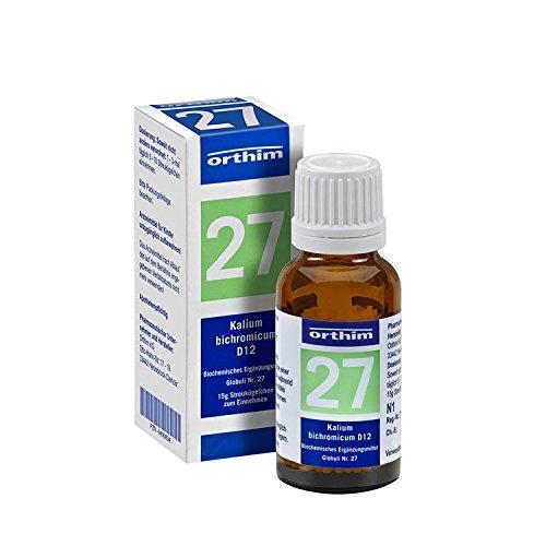 BIOCHEMIE Globuli 27 Kalium bichromicum D 12 15 g Globuli