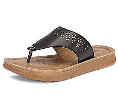 BATA Women's Penny Laser Th. Fashion Slippers