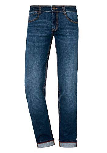 Paddocks`s Herren Jeans Dean - Slim Fit - Blau - Medium Blue W29-W38 98% Baumwolle Stretchjeans, Größe:W 31 L 30, Farbvariante:Medium Blue (4540)