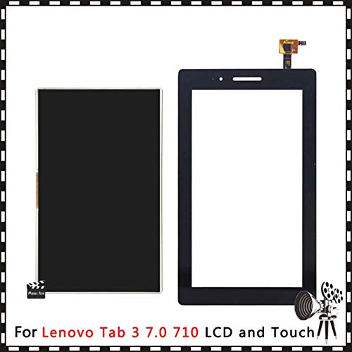 Screen replacement kit 7.0'' Fit For Lenovo Tab 3 7.0 710 Essential Tab3 TB3 710F 710L 710i Lcd Display Touch Screen Digitizer Sensor Glass Lens Repair kit replacement screen (Color : LCD and Touch)
