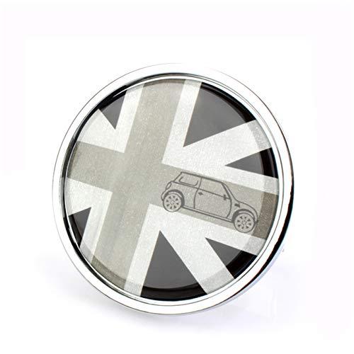 HDX Parrilla para capó Delantero, Emblema Adhesivo de Metal para Mini Cooper F54 F55 F56 F57 F60 R55 R56 R57 R58 R59 R60 R61 Hardtop Clubman Hatchback Covertible Roadster Countryman Paceman