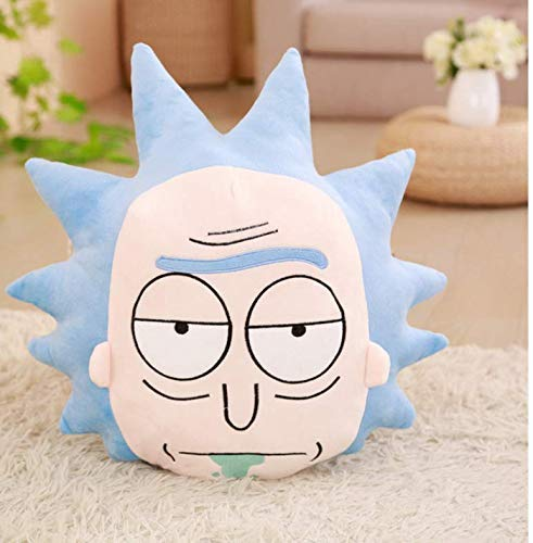 Dirgee Cartoon Doll Plush Toy, Rick And Morty Plush Stuffed Toys Comfortable Soft Pillows Bolster Cushion CartoonDoll 45Cm