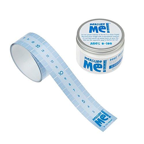 Türrahmen-Messband Measure Me!, Türrahmen-Messlatte für Kinder, aufrollbar, Blaubeeren-Mix
