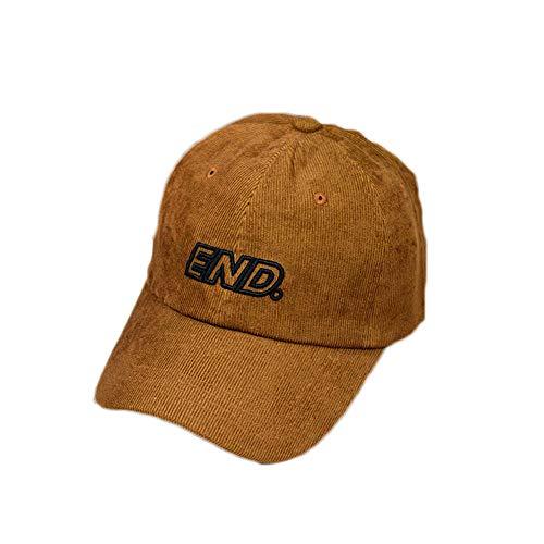 Outdoor Sonnenschirm Fashion Cap Wild Soft Top atmungsaktiv lässig Baseball Cap - Mokka Farbe verstellbar