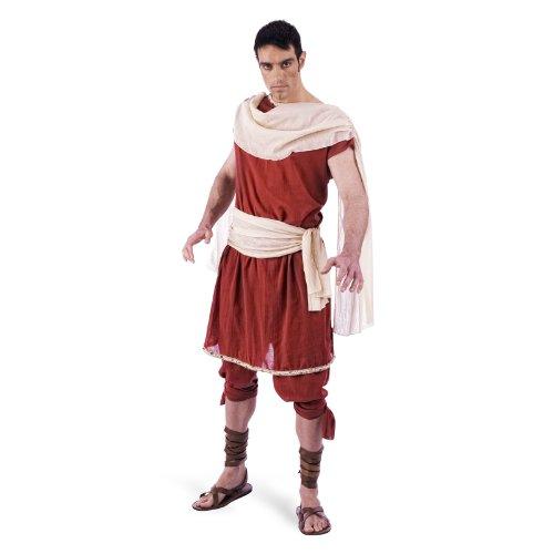 Griechischer Gott Herren Kostüm 2tlg Tunika u Hose für Fasching Karneval Gr. XXL