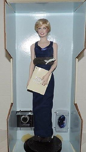 Diana Princess of Wales Porcelain Portrait Doll By the Franklin Mint Princess Di by The Franklin mint