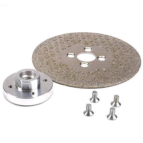 Aralinda Amoladora de disco de diamante de 65 mm/80 mm/105 mm/115 mm/125 mm para afilador, baldosas de porcelana, mármol y granito cortador (tamaño: 115 x M14)