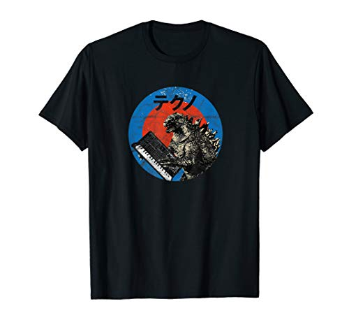 Vintage Japanese Synth Monster Retro Analog Synthesizer ADSR T-Shirt