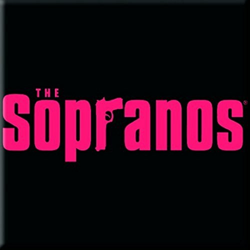 The Sopranos Fridge Magnet Logo Tony Soprano Official 76Mm X 76Mm