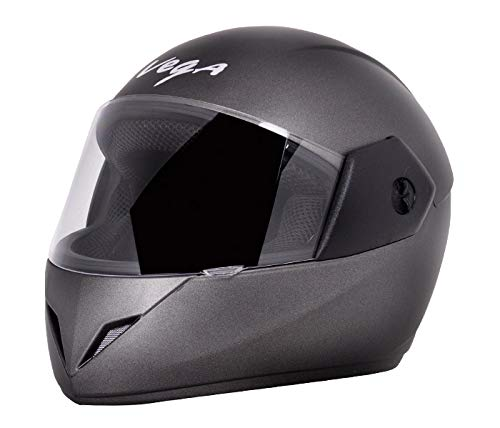 Vega Cliff Dx Full Face Helmet (Dull Anthracite, M)