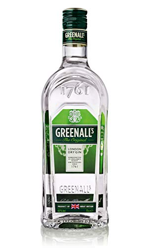 Greenall\'s London Dry Gin, Original seit 1761,Premium Gin aus dem Vereinigten Königreich 40{c66f509b16473ed089e595d0998e91336bb014fae1cc04ff32c9b2ec5cd59901} vol. (2 x 0.7 l)