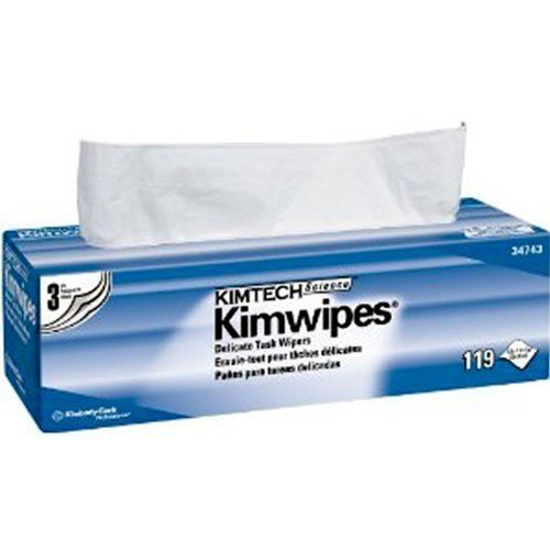 Kimwipes 34743 Kaydry Disposable Wipers, 12 x 12 by stanleysupply
