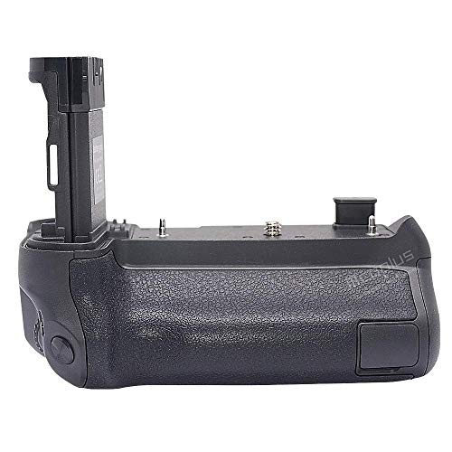 Mcoplus Multi-Battery Power Pack BG-EOS R Battery Grip as BG-E22 for Canon EOS R Camera(not for RP/R5/R6), Use LP-E6N / E6NH Battery(Not use LP-E6,Battery not Include)