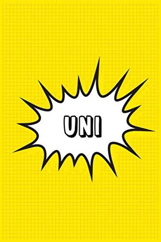 Uni: Personalized Name Uni Notebook, Gift for Uni, Diary Gift Idea