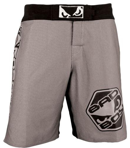 Bad Boy Legacy MMA Fight Shorts - Charcoal (36(XL))