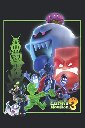 Luigi S Mansion 3 Collage Poster: Notebook Planner -6x9 inch Daily Planner...