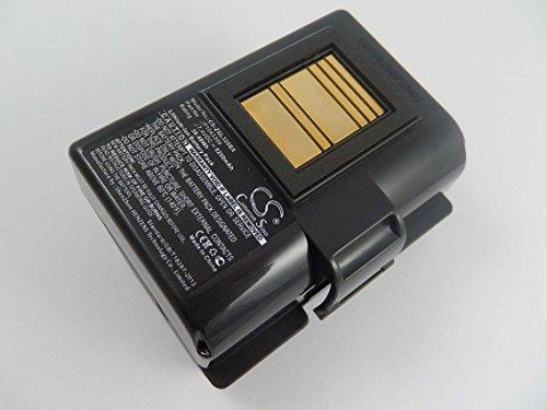 vhbw Li-Ion Akku 5200mAh (7.4V) für Drucker Kopierer Scanner Etiketten-Drucker wie Zebra P1023901-LF, P1031365-025, P1031365-059, P1043399
