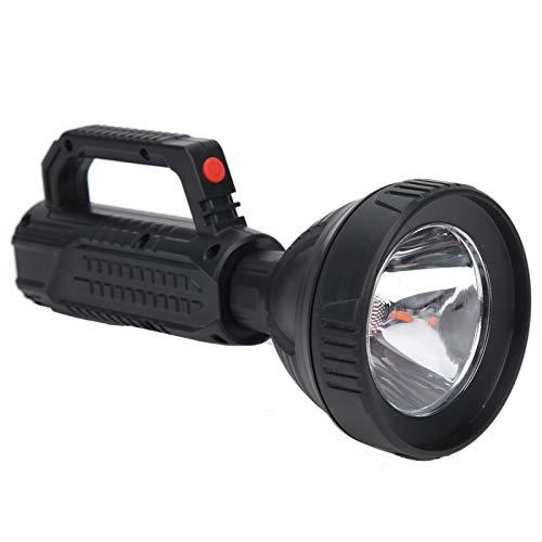 Linterna para exteriores, linterna de mano, luz de alto brillo, pantalla de 4 niveles de batería para iluminación de eventos al aire libre y rescate de emergencia