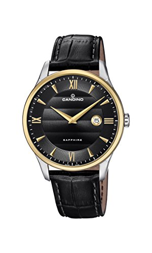 Candino Reloj Análogo clásico para Hombre de Cuarzo con Correa en Cuero C4640/4