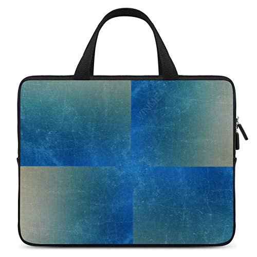 17 Inch Laptop Bag with Handle Light Blue Laptop Briefcase for Working School Men & Women
