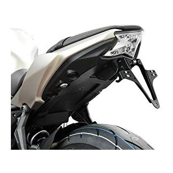 650 Performance//ER-6F//N Universal Kennzeichenhalter kompatibel mit Kawasaki Ninja 400