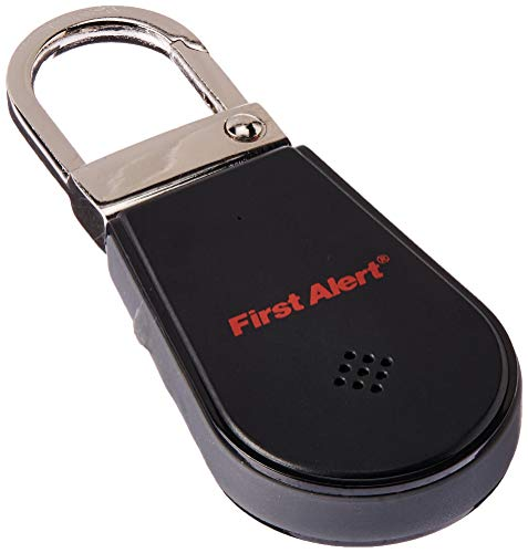 FIRST ALERT Spectra Bluetooth Lost Items Tracking Device, Black/Red
