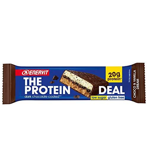 Enervit The Protein Deal Choco & Vanilla Dream 25 Barrette da 55gr
