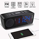 Best Alarm Clock Radios - Alarm Clocks for Bedrooms, Alarm Clock with FM Review