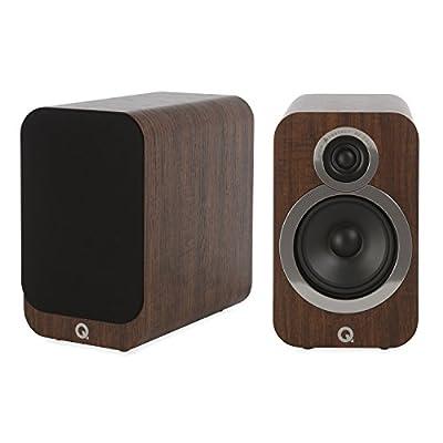 Q Acoustics 3020i Bookshelf Speakers (Pair) (English Walnut) by Q acoustics