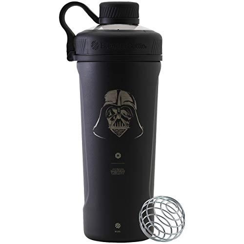 BlenderBottle Star Wars Radian Stainless Steel Shaker Bottle, 26oz, Darth Vader