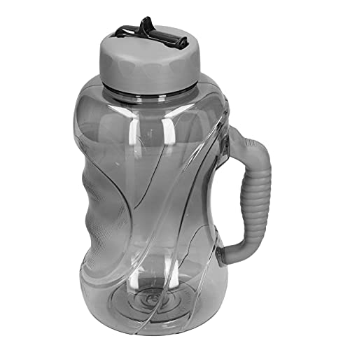 Les-Theresa Botella de Agua de Gran Capacidad de 1.5L Jarra de Agua Deportiva Botella de Agua a Prueba de Fugas con Pajita para Acampar al Aire Libre Tavel