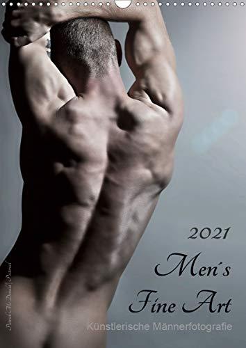 Men´s Fine Art - Künstlerische Männerfotografie (Wandkalender 2021 DIN A3 hoch)