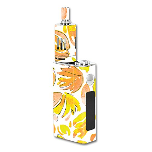 MightySkins Skin Compatible with Joyetech eVic VT 60W – Yellow Petals | Protective, Durable, and Unique Vinyl Decal wrap Cover | Easy to Apply, Remove, and Change Styles | Made in The USA