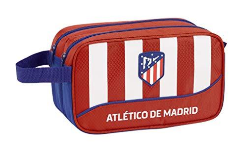 Atlético de Madrid Club de fútbol Neceser, Bolsa de Aseo Adaptable a Carro.