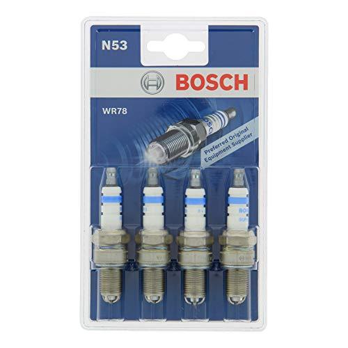 Bosch 0242232803 Zündkerze Super 4 WR78 KSN 503/N53, 4er Set