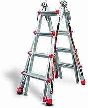 Little Giant Ladder Systems 12017 RevolutionXE Articulating Ladder, Model 17, Aluminum/Orange