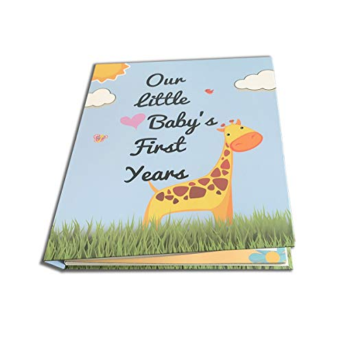 Baby Memory Book & Journal with Keepsake. Perfect Wedding, Bridal & Baby Shower Gift. Suitable for Boys Up to 5 Years Old. Memorable Events Photos, Milestones and Firsts.